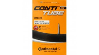 Continental MTB 28 / 29 inch Fahrradschlauch 47-662 -> 62-662 (28/29x1.75-2.5) frz. Ventil (Sclaverand) 42mm
