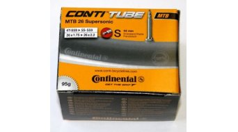 Continental MTB 26 Supersonic bici schlauch 47-559 -> 55-559 (26x1.75-2.2) valvola francese (Sclaverand) 42mm