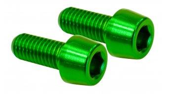 NC-17 Flaschenhalterschrauben M5x12 (2 Stück) grün
