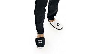 Assos loungePantoffel 拖鞋 型号 均码 黑色/白色