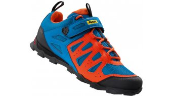 Mavic Crossride Elite Cross-Mountain-Schuhe Gr. 38 2/3 (5.5) blue/george orange-x/black