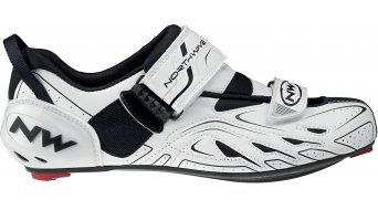 Northwave Tribute Triathlon Schuhe white/black