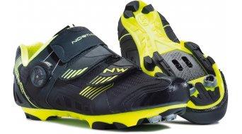 Northwave Nirvana MTB zapatillas tamaño 37 negro/amarillo fluo