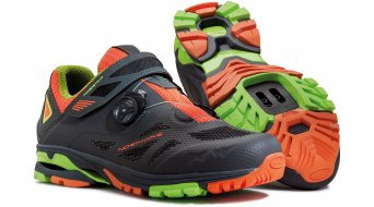 Northwave Spider Plus 2 All Mountain MTB zapatillas tamaño 36 antra/negro/naranja