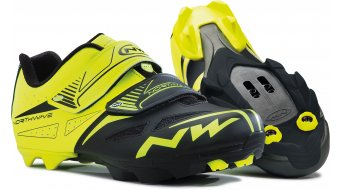 Northwave Spike Evo MTB Schuhe Gr. 34 yellow fluo/black