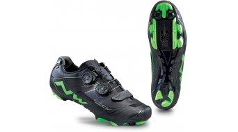 Northwave Extreme XCM MTB zapatillas tamaño 38 negro/verde fluo