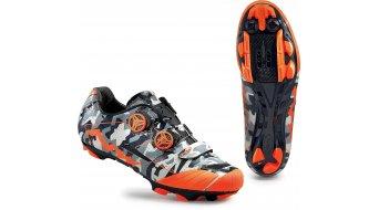Northwave Extreme XCM MTB zapatillas tamaño 38 camo/naranja