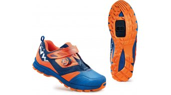 Northwave Mission Plus All Mountain MTB zapatillas azul/naranja fluo