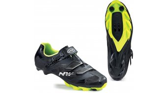 Northwave Scorpius 2 SRS MTB Schuhe Gr. 36 black/yellow fluo