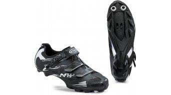 Northwave Scorpius 2 SRS MTB zapatillas tamaño 36 negro/blanco