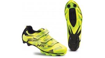 Northwave Scorpius 2 MTB zapatillas tamaño 36 amarillo fluo/negro