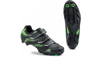 Northwave Scorpius 2 MTB Schuhe Gr. 36 black/green fluo