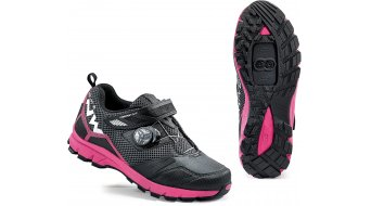 Northwave Mission Plus All Mountain MTB Schuhe Damen-Schuhe Gr. 36 black/fuchsia