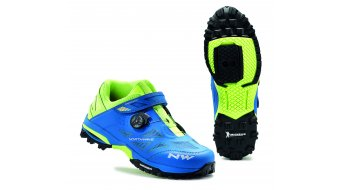 Northwave Enduro Mid All Mountain MTB zapatillas azul/amarillo fluo
