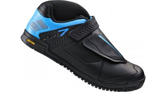 Shimano SH-AM7 Flatpedal zapatillas All Mountain MTB-zapatillas negro(-a)/azul