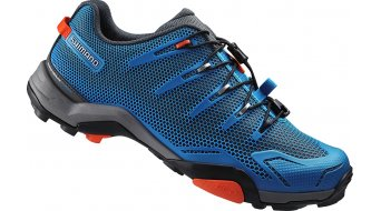 Shimano SH-MT44B SPD zapatillas Mountain-Touring MTB-zapatillas azul