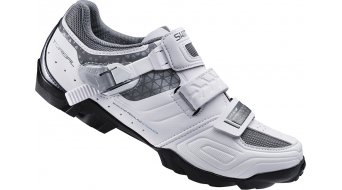 Shimano SH-WM64W SPD Señoras zapatillas MTB-zapatillas blanco(-a)