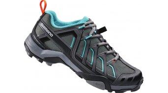 Shimano SH-WM34G SPD Damen Schuhe Mountain-Touring MTB-Schuhe grün/grau