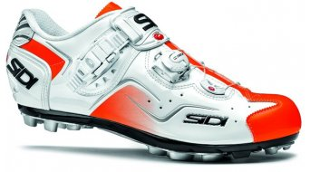 Sidi Cape Herren MTB Schuhe white/orange fluo Mod. 2016