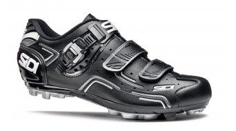 Sidi Buvel Caballeros MTB zapatillas tamaño 44 negro/negro Mod. 2016- MODELO DE DEMONSTRACIÓN una vez calas de fijación montado