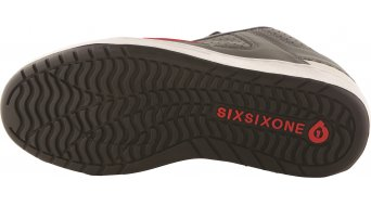 Sixsixone Filter zapatillas tamaño 38 (US 6) gray/rojo Mod. 2015