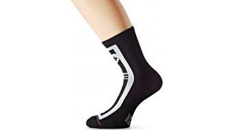 Assos habuSock evo7 Socken black Volkanga