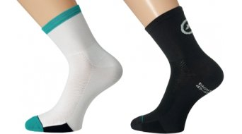 Assos F1 evo7 Socken black/white