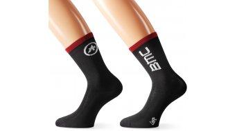 Assos BMC summerSock 骑行袜 型号 red/black