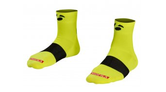 Bontrager Race 6cm Socken Gr. M (US) (40-42) visibility yellow