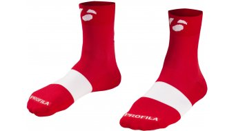 Bontrager Race 6cm Socken Gr. M (US) (40–42) bonty red/white