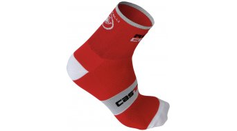 Castelli Rossocorsa 9 chaussettes hommes-chaussettes taille