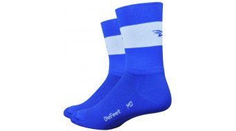 DeFeet Aireator 5 骑行袜 双-Bund Team DeFeet 型号