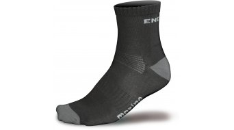 Endura BaaBaa Merino chaussette (2 Pack) hommes-chaussette taille S black
