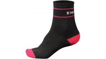 Endura Retro calcetines (de 2 unidades) Señoras-calcetines tamaño unisize negro