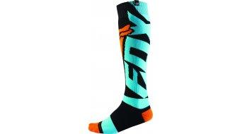 Fox Coolmax Shiv Socken Herren MX-Socken Thick Gr. L aqua