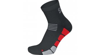 GORE Bike Wear Speed Mid Socken Rennrad Gr. 35-37 black/red