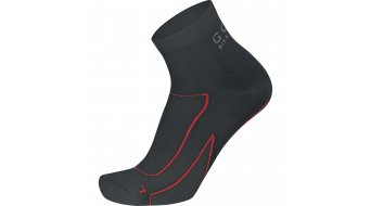 GORE Bike Wear Velocity Mid Socken Herren-Socken Gr. 35-37 black/red
