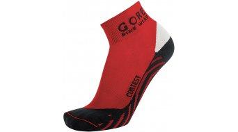 GORE Bike Wear Contest Socken Rennrad Gr. 35-37 red/black