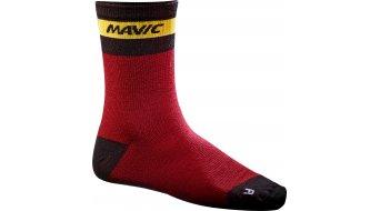 Mavic Ksyrium Merino Socken Gr. 35/38 red