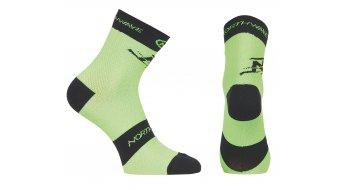 Northwave Blaze Socken Gr. L green fluo/black