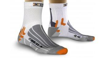 X-Bionic Street Biking 骑行袜 Socks (water-repellent) 型号 white