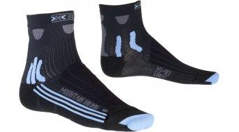 X-Bionic Mountain 骑行袜 女士-骑行袜 Socks 型号 black/sky blu