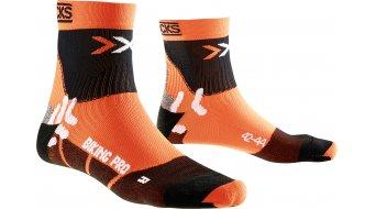 X-Bionic Pro Mid Socken Gr. 35/38 orange/black