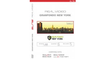 Elite DVD Granfondo New York für Real Axiom/Real Power/Real Tour