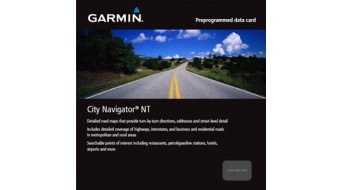 Garmin data map microSD/SD City Navigator Europe NT Alpen sowie Germany, Austria and the Switzerland