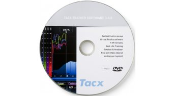 Tacx DVD Trainersoftware 3.4 TTS - Vollversion T1990.03