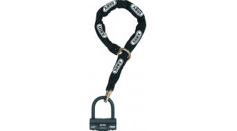 Abus Granit 58 自行车锁 链条-/U型挂锁 120厘米-长 黑色
