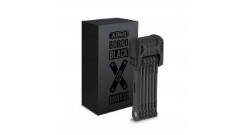 Abus Bordo Black Edition 6510 自行车锁 折叠锁 85厘米-长 black (含有便携包)