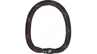 Abus Ivy Chain 9100 自行车锁 链条连接锁 black/red