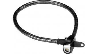 Abus Microflex II 690 Steel-sin-Flex candado para bicicleta candado de cable 75cm-largo(-a) negro(-a) (incl. LL/URB soporte de candado)